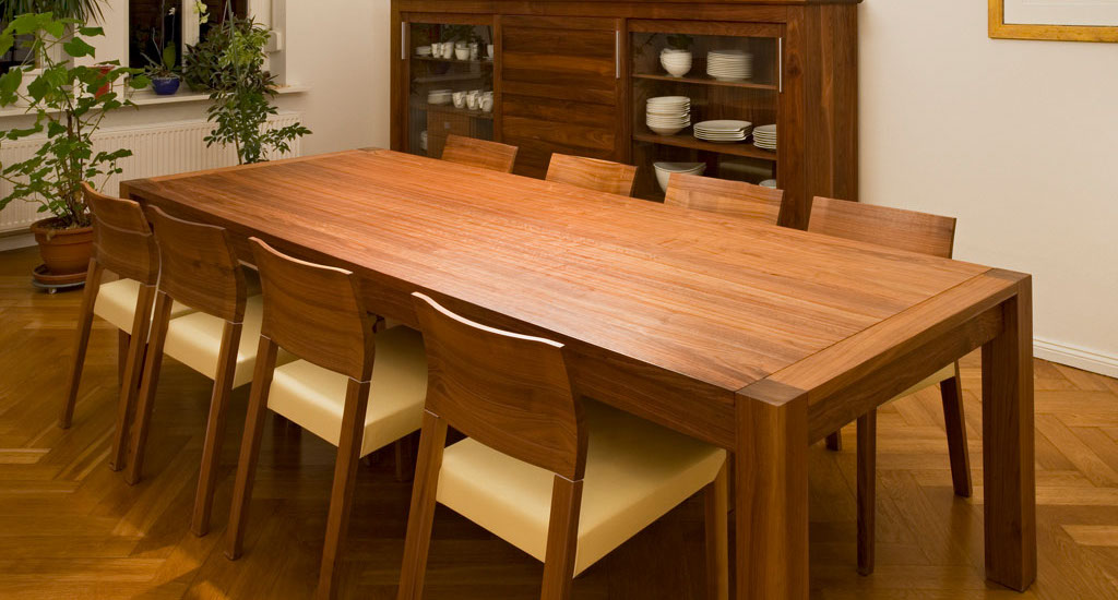 Groser Esstisch Massivholz ~ Tisch esstische aus holz schreinerei fulda