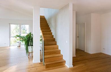 Holztreppe Gelander Stufen Schreinerei In Fulda